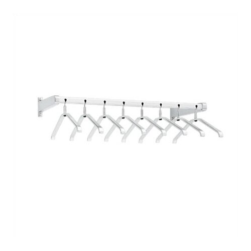 Peter Pepper Coat Rack with 8 Ball-Joint Removable Coat Hangers
