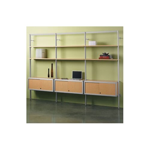 "Peter Pepper Envision® Section Storage System 84"" Bookcase"