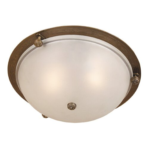 JVI Designs 2 Light Flush Mount
