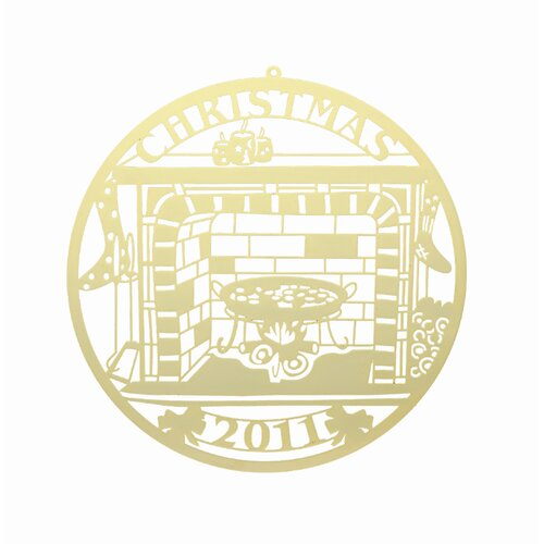 Chestnuts Roasting Open Fire Commemorative Ornament
