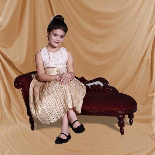 Victorian Kid's Swan Sofa