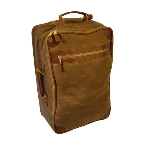 Waxed Canvas International Carry-On Suitcases