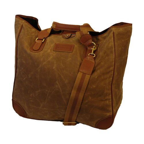 Mulholland Brothers Waxed Canvas Large Tote Bag