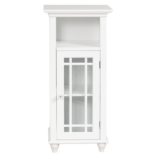 Neal Floor Cabinet with 1 Door and Open Shelf