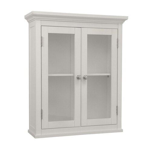 Elegant Home Fashions Madison Avenue Wall Cabinet with 2 Doors