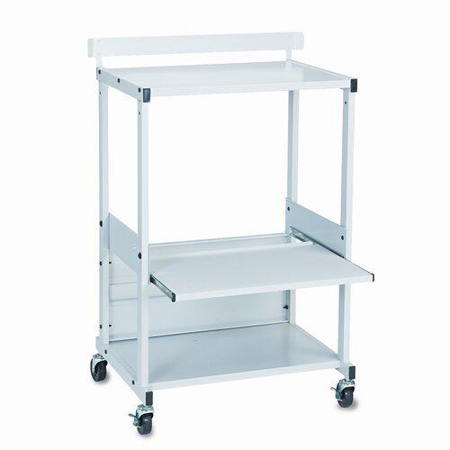 Balt BALT® Max Stax Dual Purpose Printer Stand with Three Shelves