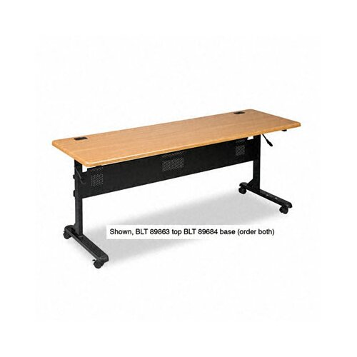 Balt Flipper Training Table Base, 65-1/2w x 23-1/2d x 28-1/4h, Black