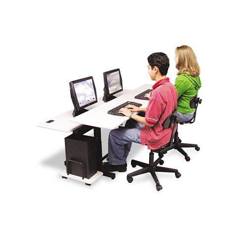 "Balt Split-Level Computer 72"" W x 36"" D Training Table"