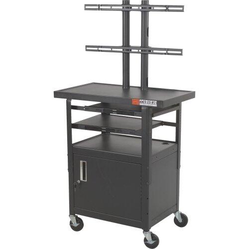 Balt Adjustable Height Flat Panel TV Cart