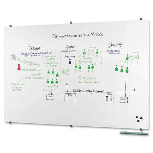 "Balt Visionary 4' 5"" x 6' 4"" Whiteboard"