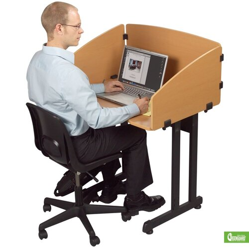 Balt Economical Laminate Study Carrel Desk