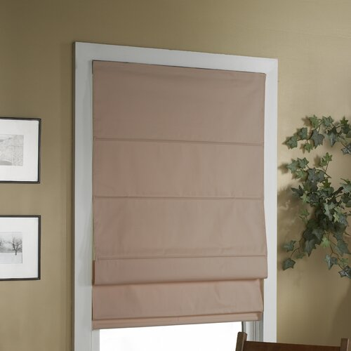Cordless Blackout Thermal Insulated Roman Shade