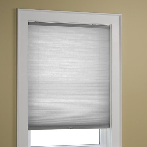 Green mountain vista ez glide cordless pleated shade for Window design molding