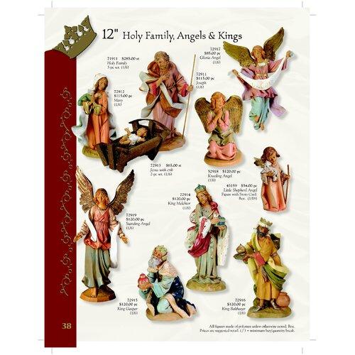"""Fontanini 12"""" Holy Family Nativity Set"""