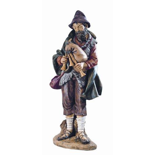 """Fontanini 50"""" Scale Josiah Bagpiper Nativity Figurine"""