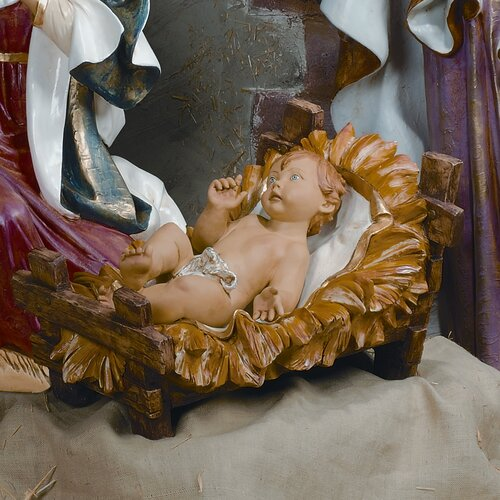 Fontanini Scale Nativity Infant Figurine Christmas Decoration