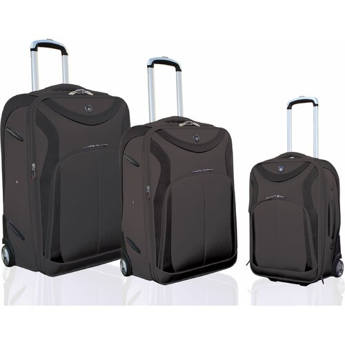 "Travelers Polo & Racquet Club Sydney ""Sleek-Traveler"" 3 Piece Luggage Set"