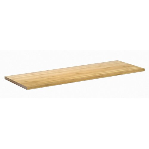 NewAge Products Bold Series Bamboo Butcher Block Worktop