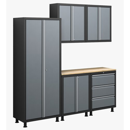 RTA Series 6' H x 7' W x 1.5' D 6-Piece Cabinet Set