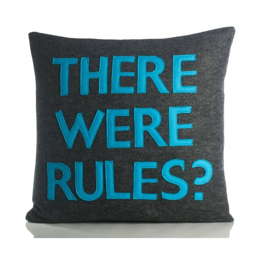 Alexandra Ferguson There Were Rules Decorative Pillow