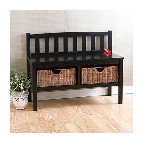 Wildon Home ® Harrison Wood Storage Bench