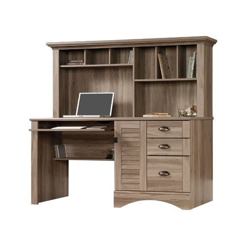 Sauder Harbor View Computer Desk With Hutch Amp Reviews