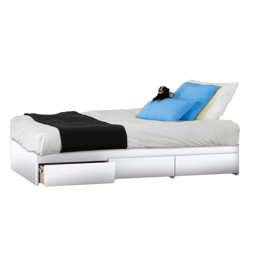Nexera BLVD Reversible Bed with Storage