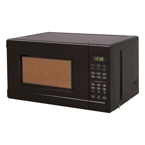 Black Amp Decker 0 7 Cu Ft 700w Microwave Amp Reviews Wayfair
