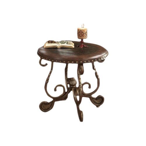 Signature Design By Ashley Rafferty Round End Table Reviews Wayfair