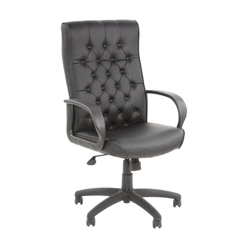 Boss Office Products High-Back Button Tufted Executive Chair
