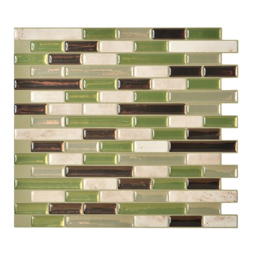 Smart tiles mosaik self adhesive high gloss mosaic in - Imitation faience adhesive ...