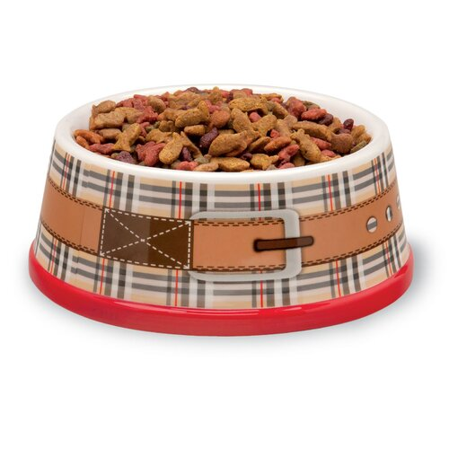 October Hill Dog and Cat Food and Water Bowl