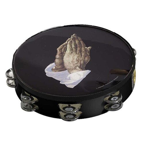 Remo Praying Hands Graphic Tambourine