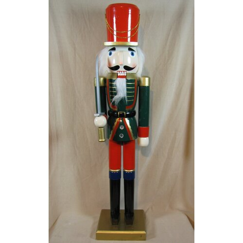 Horizons East Jacket Soldier Painted Wood Nutcracker