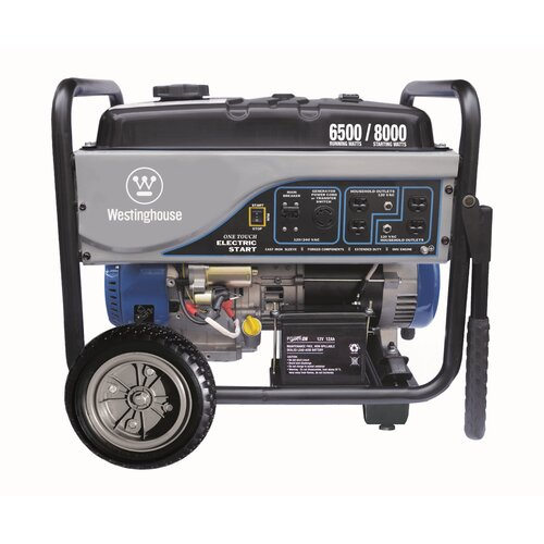 Westinghouse Power Products 6,500 Watt Generator