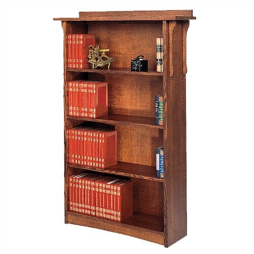 "Anthony Lauren Craftsman Home Office 63"" Bookcase"
