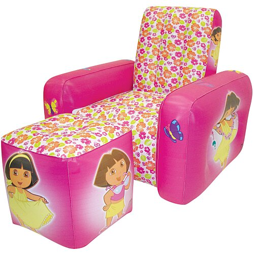 Nickelodeon Dora the Explorer Inflatable Kid's Club Chair
