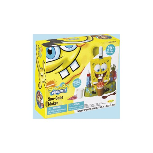 Little Kids Nickelodeon SpongeBob SquarePants Sno-Cone Maker