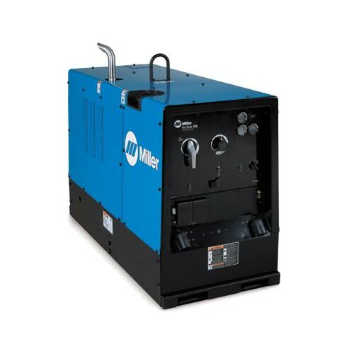 Miller Electric Mfg Co 400D CC Generator Welder 500A with 35HP Deutz Engine, Engine Gauges, Automatic Idle, Weld Meters