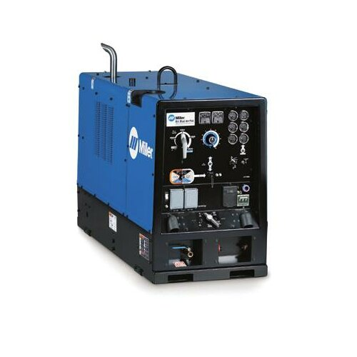 Miller Electric Mfg Co Air Pak CC/CV Generator Welder 750A with 64HP Deutz Diesel Engine and Air Compressor Cold Weather Package