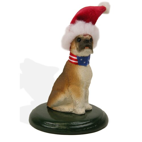 Byers' Choice Boxer Dog Figurine