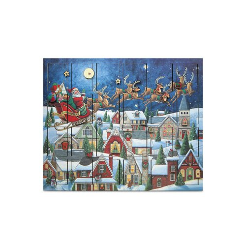 Byers' Choice Santa's Sleigh Advent Calendar