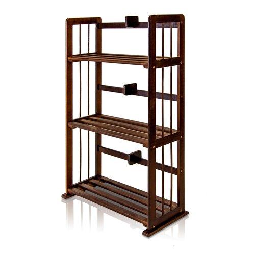 """Furinno Pine 34"""" Bookcase"""