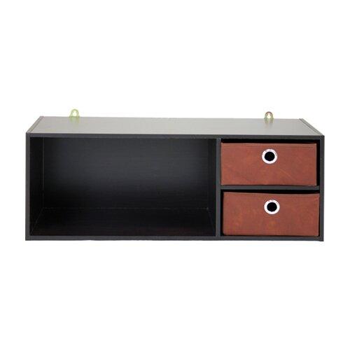 Furinno 1000 Series Wall-Mounted Storage/Desk Hutch