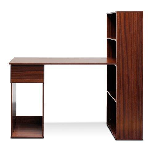 furinno boyate computer desk with bookshelf reviews