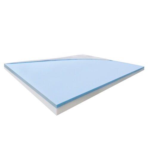"Healthy Sleep 4"" Visco Elastic Gel Memory Foam Mattress"