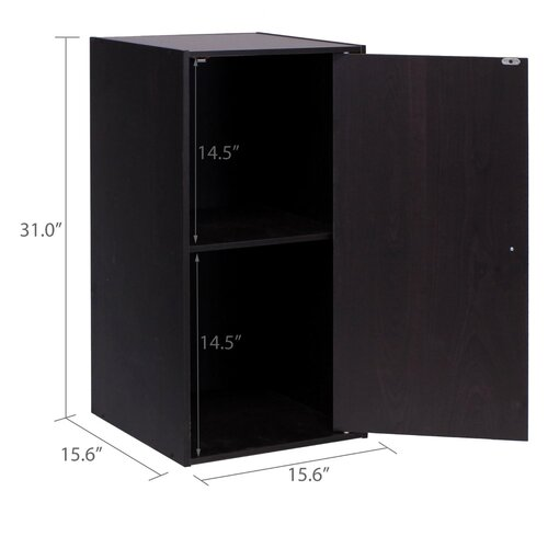 Furinno Hidup Tropika Eco Modular Cube Tall Storage System with Door