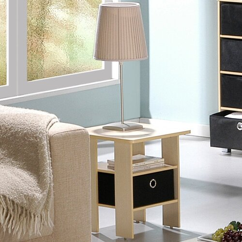 Furinno Steam Beech Living End Table