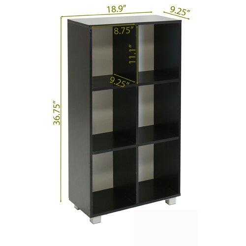 "Furinno 18.9"" Columns Multipurpose Storage Cabinet"