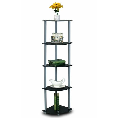 5 Tier Corner Rack Display Shelf